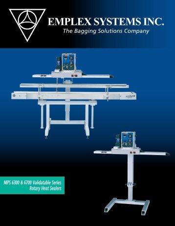 emplex systems inc. - West Coast Plastics - Bag Sealers, Packaging ...