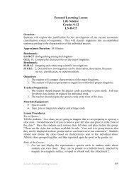 Classification Lab - Ms Hoskins