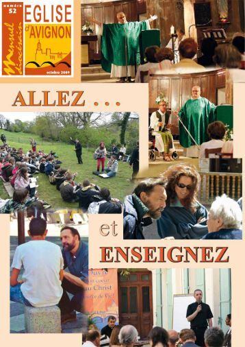 numéro octobre 2009 - Diocèse d'Avignon