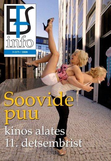 EFS infoleht 3_2008 - Eesti Filmi Sihtasutus
