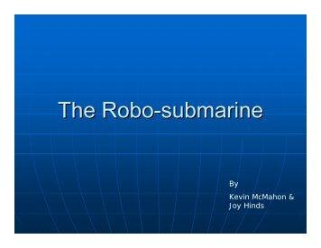 The Robo-submarine - Mechatronics