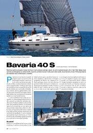 Bavaria Cruiser 40 Sport, VAL navtika_julij 2011 - TTY