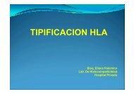 CLASE 4 Tipificación HLA - Hospital Privado
