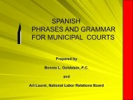 spanish phrases and grammar for municipal courts - Texas ...