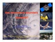 Bjorn Lambrigtsen JPL - Keck Institute for Space Studies - Caltech