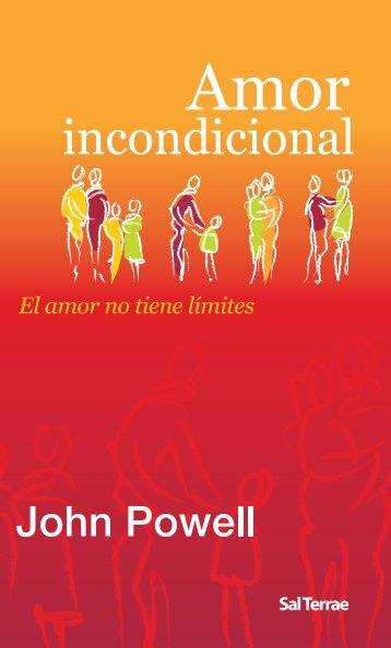 El amor no tiene límites - Editorial Sal Terrae