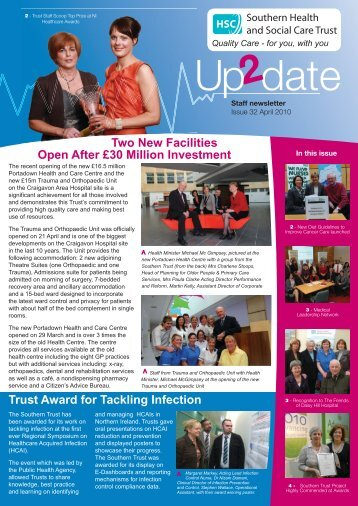 Issue 32 - April 2010 - Southern Health and Social Care Trust