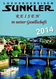 Katalog 2014 - Autobus und Reisebüro Sunkler