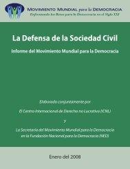 La Defensa de la Sociedad Civil - Fundación CONSTRUIR
