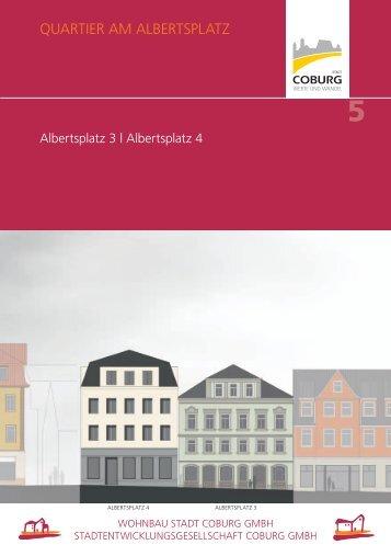 05_Albertsplatz 3 und 4 - Wohnbau Stadt Coburg GmbH