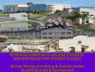 RETAINING COMMUNITY COLLEGE STUDENTS: NEW ... - AACRAO