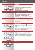 9310 / 9315 Bedienungsanleitung 2 Operating Instructions 9 Mode d ... - Page 6