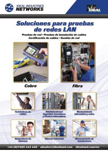 Soluciones para pruebas de redes LAN - Ideal Industries
