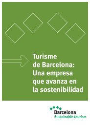 Barcelona Sustainable Tourism - bcnshop - Turisme de Barcelona