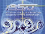 PDF-Präsentation - BSO 2001 Software und CAD Engineering GmbH
