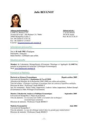 CV fr - Lameta