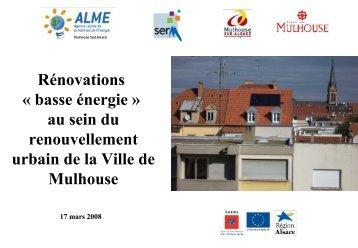 Mulhouse - Cellule Économique du Bâtiment et des Travaux Publics ...