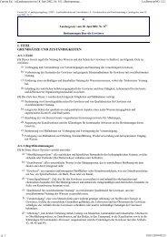 Landesgesetz vom 18. Juni 2002, Nr. 8 1) Bestimmungen über die ...