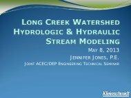 Long Creek Watershed