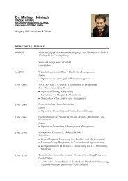 Dr. Michael Heinisch - Vinzenz Gruppe