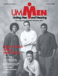 Summer 2001, No. 3 - United Methodist Men