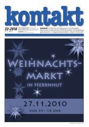 Ausgabe 22 (18.11.2010) PDF - Herrnhut