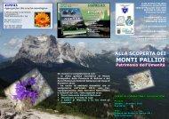MONTI PALLIDI - Club Alpino Italiano – Comitato Scientifico Veneto ...