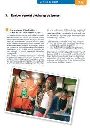 3. Evaluer le projet d'échange de jeunes - Injep