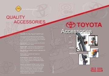 Accessories - Toyota Material Handling, U.S.A., Inc.