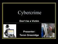 Awareness of Cybercrime