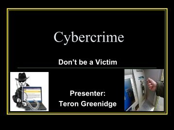 Awareness of Cybercrime