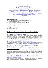 Noslēguma / Starpposma pārskata iesniegšanas kārtība - LIAA
