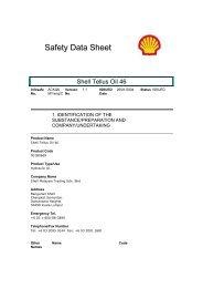 Safety Data Sheet - Shell
