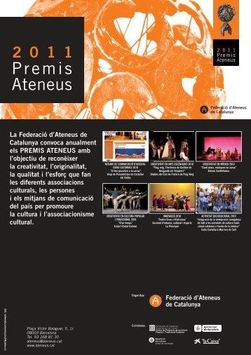 Premis Ateneus 2011 - Xarxanet