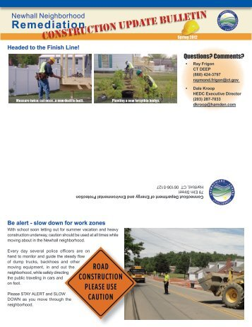 Spring 2012 - Newhall Remediation Project