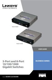 5-Port and 8-Port 10/100/1000 Gigabit Switches - BelkaShop