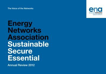 Energy Networks Association Sustainable Secure Essential