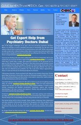 Get Expert Help from Psychiatry Doctors Dubai