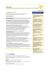 BKK-Newsletter Januar 2010 - Bkk-bv-gesundheit.de