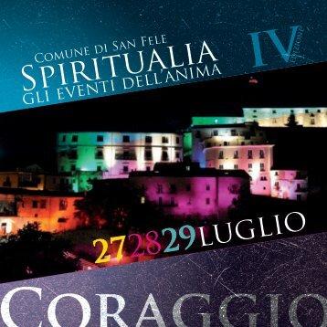 Spiritualia 2013 - Regione Basilicata