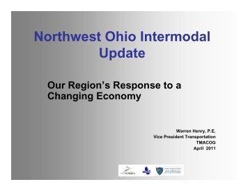 Northwest Ohio Intermodal Update - Toledo Metropolitan Area ...