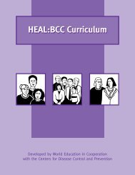Heal:BCC Curriculum - Health & Literacy Special Collection - World ...