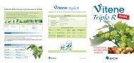 Vitene Triplo R - L'innovazione nel solco della tradizione - AgroNotizie