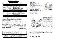 Brief an die Gemeinde St. Ludger 14.05. bis 22.05.2011 4. Sonntag ...