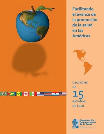 Facilitando el avance de la promoción de la salud en ... - PAHO/WHO
