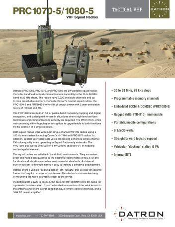 DTR PRC1070-5-0610.indd - JDS Video & Media Productions, Inc.