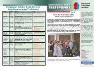 Programm Juli bis September 2011