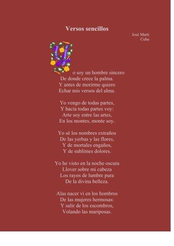 Versos sencillos - Sinabi