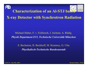 Characterization of Al-STJ based X-ray Detector by Synchrotron ...