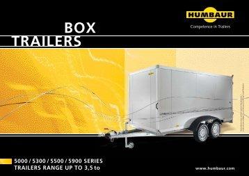 Box TRAILERS - JB Trailer
